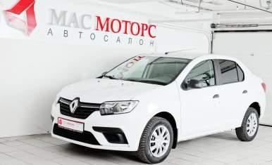 Renault Logan Белый